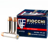 Close up of the 158gr on the 25 Rounds of 158gr JHP .357 Mag Ammo by Fiocchi