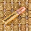 Close up of the 38gr on the 40 Rounds of 38gr CPHP .22 LR Ammo by Federal