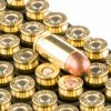 Close up of the 95gr on the 500 Rounds of 95gr MC .380 ACP Ammo by Remington