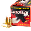 Close up of the 230gr on the 100 Rounds of 230gr FMJ .45 ACP Ammo by Federal
