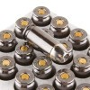 Close up of the 180gr on the 20 Rounds of 180gr JHP .40 S&W Ammo by Browning