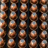 Close up of the 95gr on the 1000 Rounds of 95gr JSP 9mm Ammo by Federal