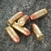 Close up of the 90gr on the 1000 Rounds of 90gr FMJ .380 ACP Ammo by Independence