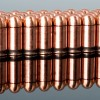 Close up of the 92gr on the 35 Rounds of 92gr FMJ .380 ACP Ammo by LVE