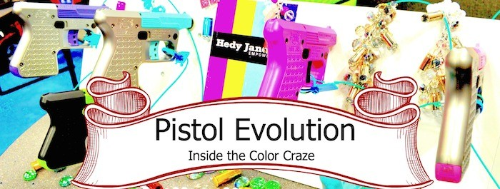 The Evolution of Colored Handguns & Ammo